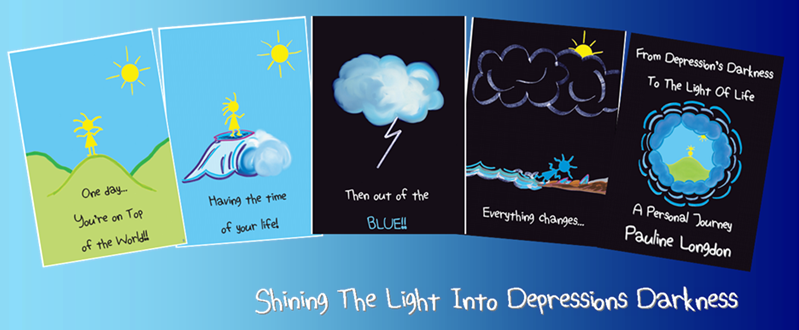 """""""From Depression's Darkness To The Light of Life…"""""""
